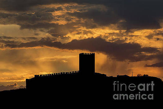 Sunrays Over The Castel by Compuinfoto