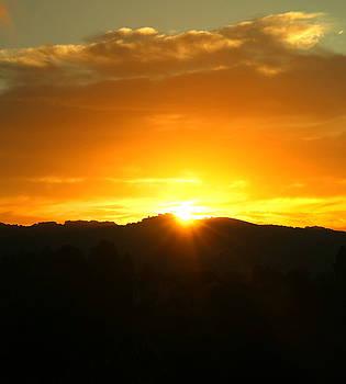 Sunrise 09 29 17 Three Cropped by Joyce Dickens