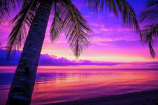 Belizean Sunrise by Alan Stenback Photography