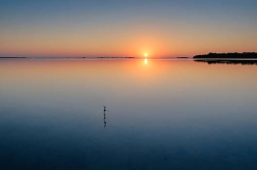 Sunrise along the Pinellas Bayway by Craig Szymanski