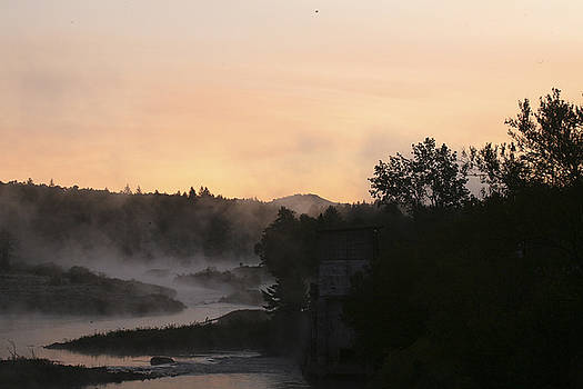 Sunrise and Fog by George Lovelace