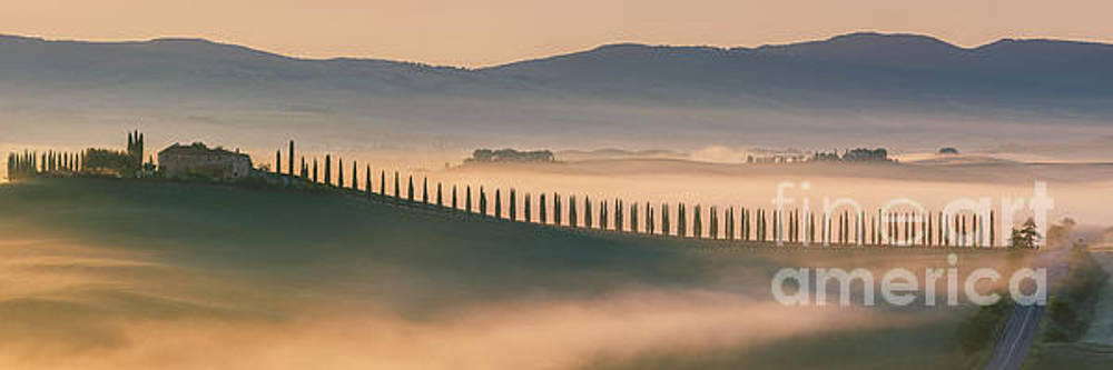 Sunrise at Agriturismo Poggio Covili by Henk Meijer Photography