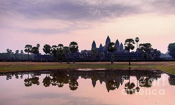 Sunrise at Angkor Wat by Sandy Molinaro