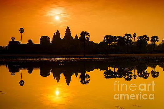 Sunrise at Angkor Wat by Yew Kwang