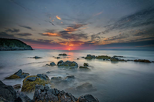 Sunrise at at Quoddy Head by Rick Berk