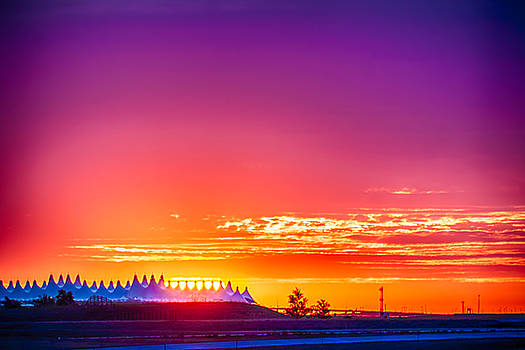 Sunrise at Denver International Airport by Scotts Scapes