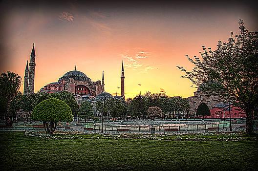 Sunrise at Hagia Sophia by Kevin McClish