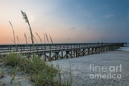 Dale Powell - Sunrise at Isle of Palms Pier