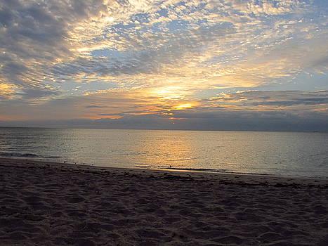 Sunrise at Lake Worth Beach by Zachary Baty