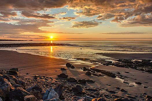 Sunrise at Long Sands by Thomas Lavoie