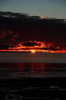 Sunrise at Mackinac 6 by Lisa M Smith