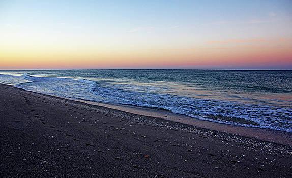 Sunrise At Manasota Key by Debbie Oppermann