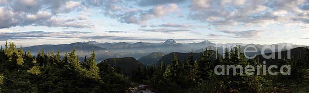 Rod Wiens - Sunrise at Mt St Benedict