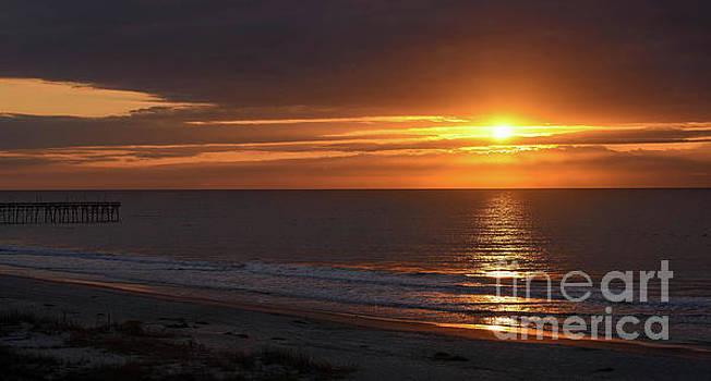 Sunrise at Ocean Isle by Debbie Morris