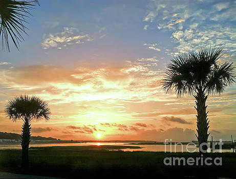 Sunrise at Ocean Isle by Kerri Farley