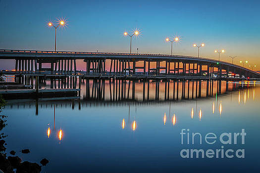 Tom Claud - Sunrise at Palm City Bridge