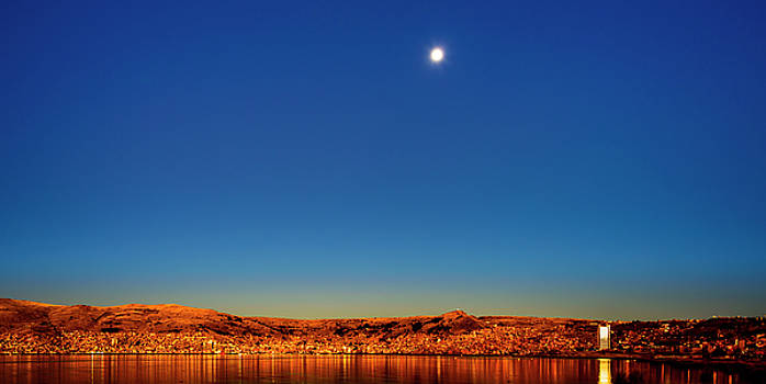 Sunrise at Puno, Peru by Oscar Gutierrez