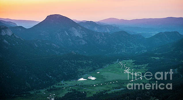 Sunrise at Rocky Mountain National Park by Beth Riser