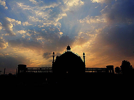 Sunrise at Rumi Gate by Atullya N Srivastava