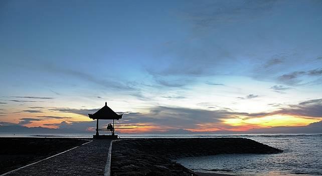 Sunrise at Sanur Beach Bali by Ludi Sasmita