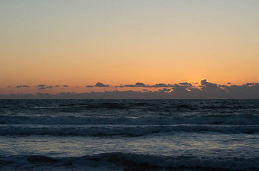 Sunrise at St. Augustine Beach by Linda Geiger
