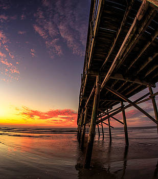 Sunrise at Sunset Beach by Nick Noble