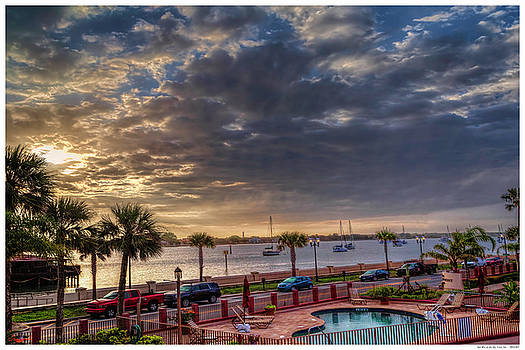 Sunrise at the Bay Front Inn by Rogermike Wilson