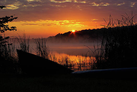 Sunrise at the Boat Launch by Paul Wash