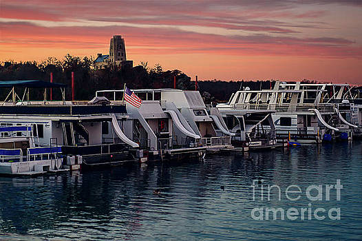 Lake Murray Sunrise at the Marina by Tamyra Ayles