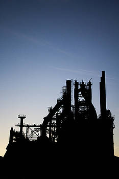 Sunrise at the Steel by Chris Fiegel