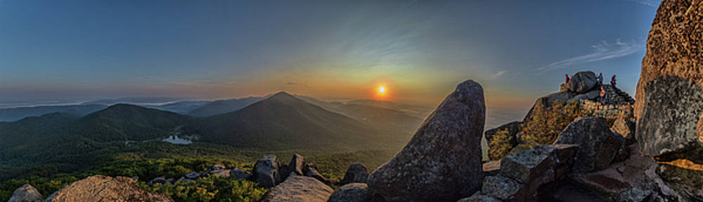 Sunrise at the Summit by Steve Hammer