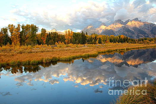 Sunrise at the Tetons by Cynthia Mask