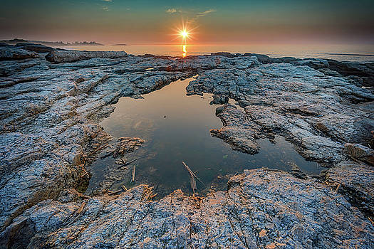 Sunrise at Todd's Point by Rick Berk
