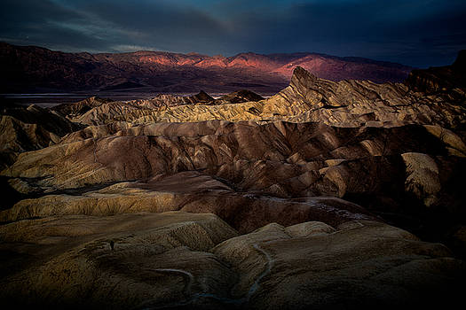 Rick Strobaugh - Sunrise at Zabiskie Point