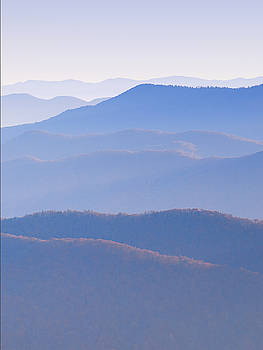 Sunrise Atop Clingman's Dome  RTriptych by Jeff Abrahamson