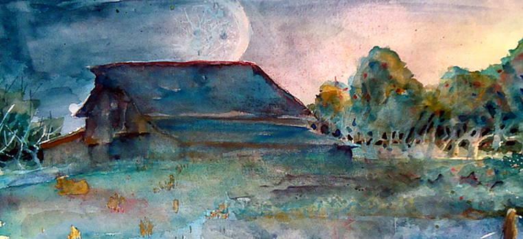 Sunrise barn by Steven Holder