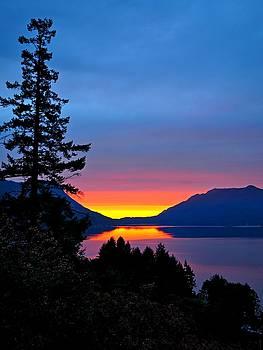 Sunrise Before the Rain by Steffani Cameron