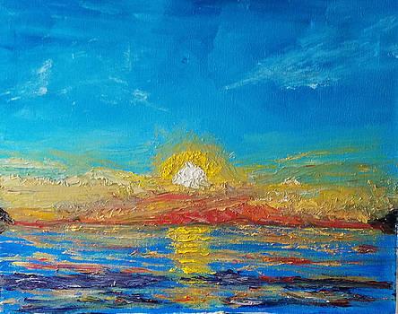 Sunrise by Bernard Victor