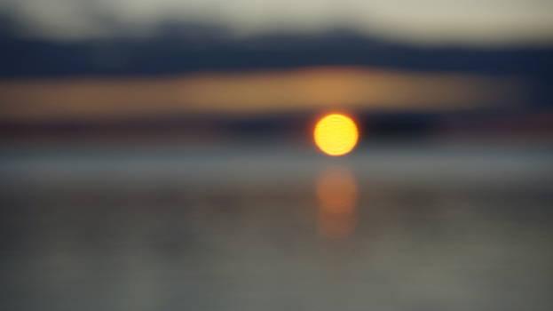 Sunrise blurred by Tiina M Niskanen