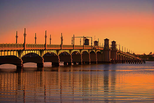 Sunrise Bridge of Lions by Stacey Sather