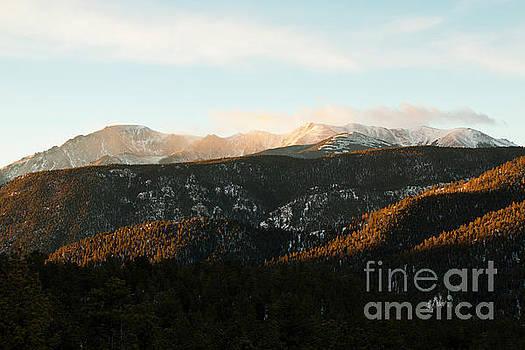 Steve Krull - Sunrise Clouds on Pikes Peak