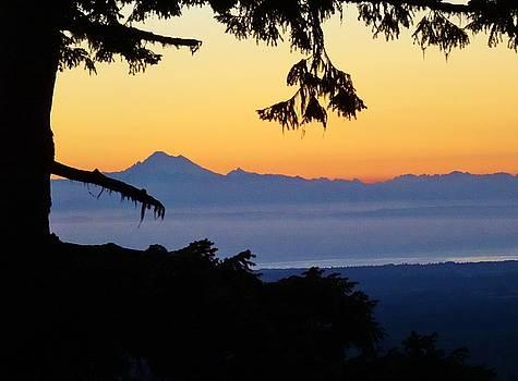 Sunrise from Hurricane Redge by David Frankel