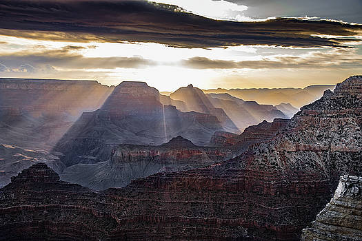 Sunrise Grand Canyon by Phil Abrams
