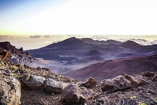 Puget Exposure - Sunrise Haleakala Volcano