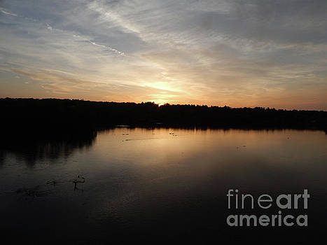 Sunrise In Ann Arbor by Phil Perkins