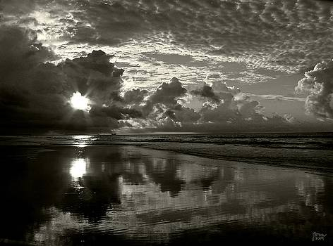 Sunrise in Black and White 2 by Jeff Breiman