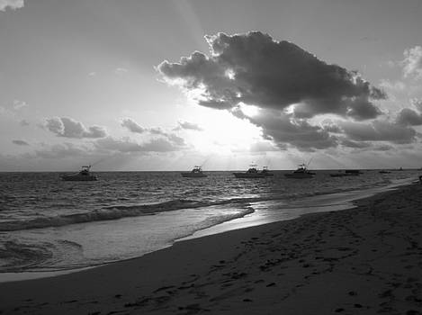 Sunrise in Black and White by Jessica Hoover