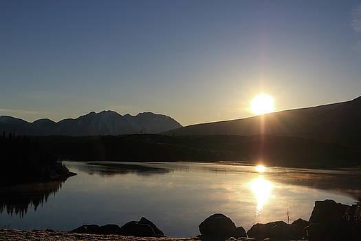 Sunrise in British Columbia by Kimberly VanNostrand