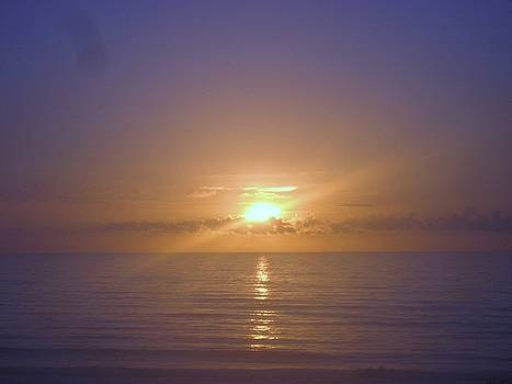 Sunrise in Daytona Beach by Jennifer  Sweet