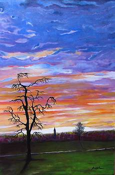 Sunrise in Germany by Paintings by Parish